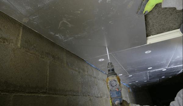 Isolatie kelderplafond