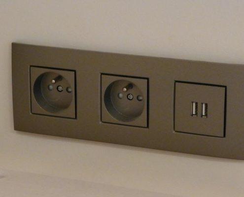 Elektriciteit inbouw stopcontact