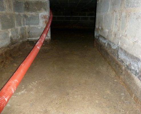 Isolatie kruipkelder