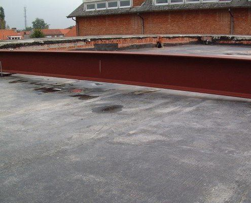 Plat dak renovatie