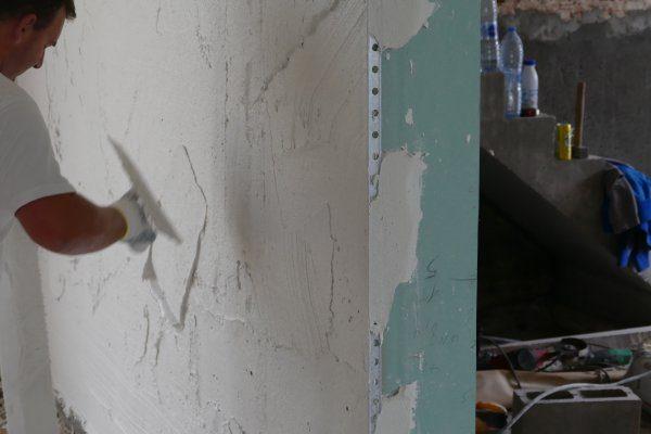 Pleisterwerken en gyproc