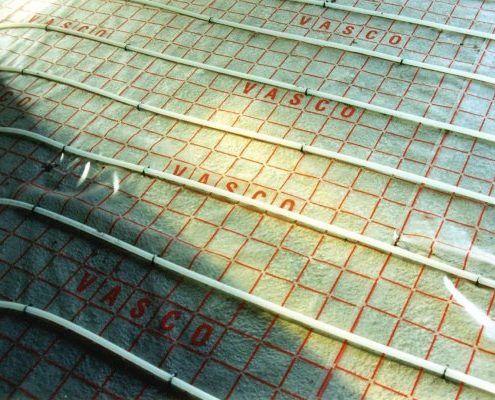 Vloerisolatie en vloerverwarming
