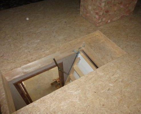 Isolatie zoldervloer beloopbaar