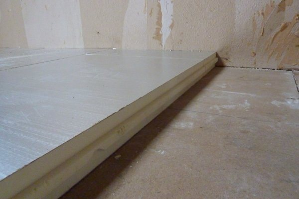 isolatie zoldervloer afgewerkt met OSB