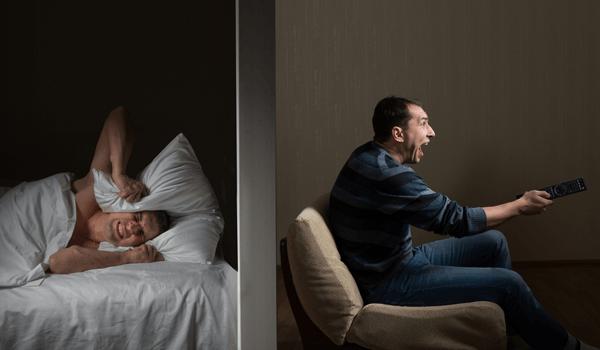 Akoestische isolatie van muren isolatie verhoeven - Vicini di casa rumorosi ...