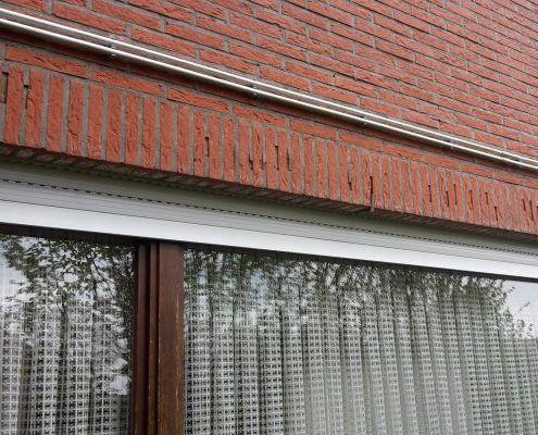 Vorstschade rollaag raam