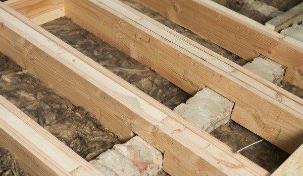 Renovatie verdiepingsvloer