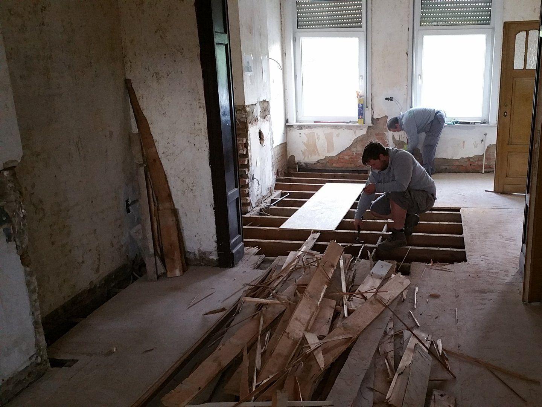 Verbouwing woning tot studentenkamers