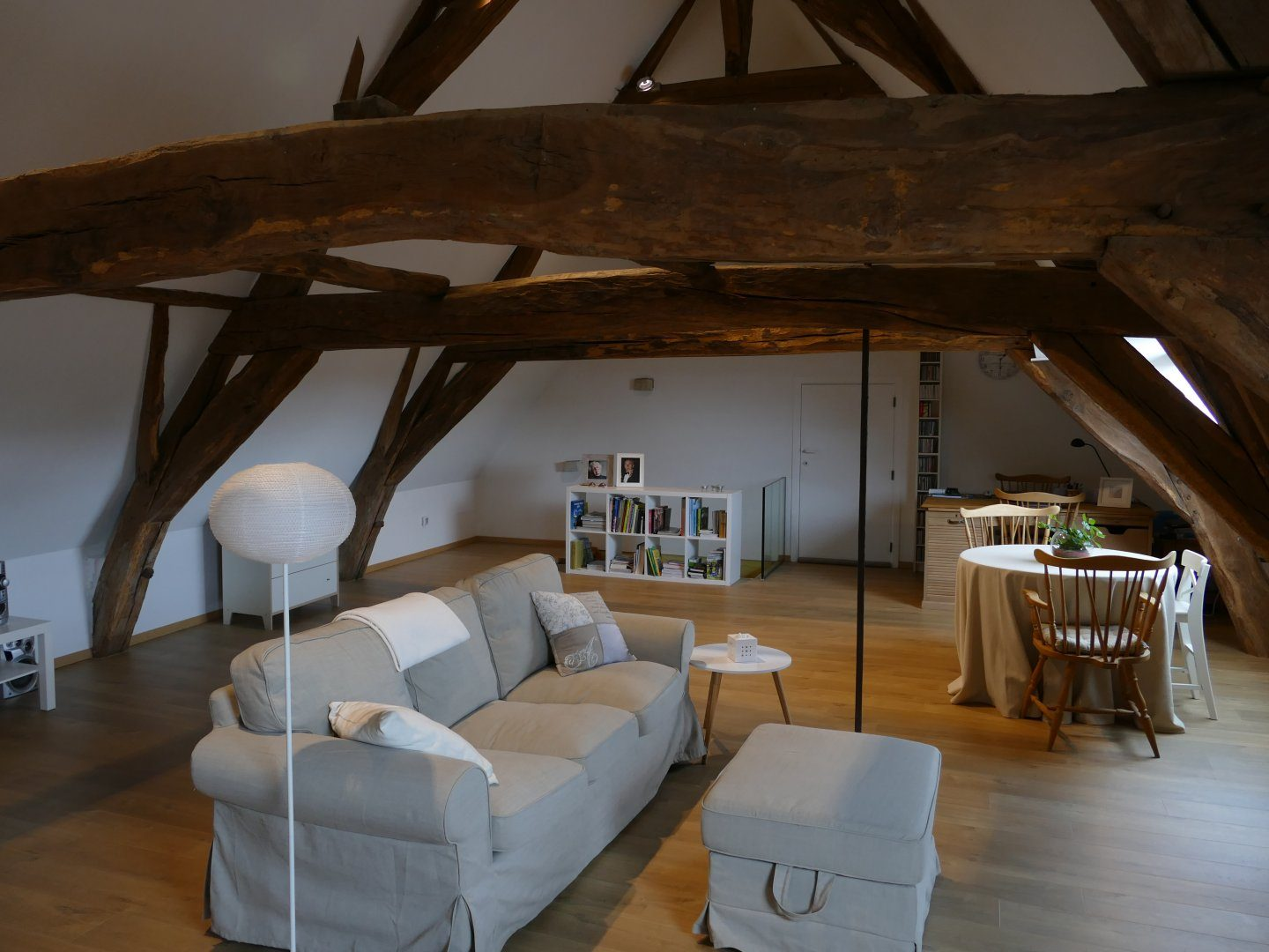 Renovatie tot authentieke loft
